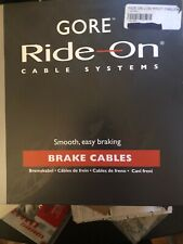 New-Old-Stock GORE Ride-On Low Friction Brake Cable System Silver