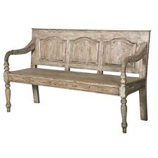 Reclaimed Pine Bench Wooden Bench Pine Rustic bench