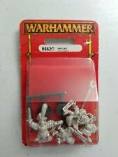 Warhammer Fantasy DOGS OF WAR HAFLING COMMAND 8562C Metal Rare OOP Citadel