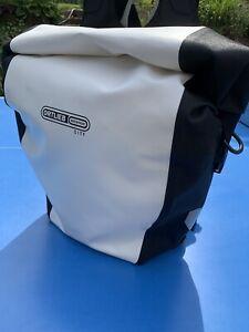 Ortlieb Back Roller City Radtasche mit Rucksack Tragesystem - Weiß/Schwarz
