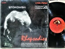 STOWKOWSKI  RHAPSODIES on RCA LSC-2471 LIVING STEREO in NM 1st PRESSING