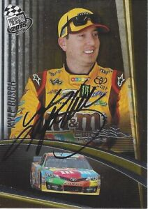 AUTOGRAPHED Kyle Busch 2015 Press Pass CUP CHASE EDITION Signed NASCAR Card COA