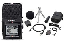 Zoom H2n Handy Portable Digital Multitrack Recorder W/ APH-2n Accessory Bundle