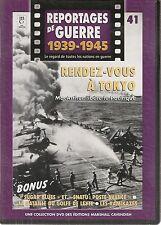 DVD REPORTAGE DE GUERRE 1939-1945 N° 41--RENDEZ VOUS A TOKYO/LES KAMIKAZES