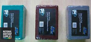 SCOTCH BRITE PADS, PACK OF 10 RED/MAROON FINE /  GREY ULTRA FINE / GREEN MEDIUM