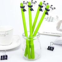 Cartoon Panda Bamboo Neutral Pens Stationery Gift Gel Pen Office School Supplies