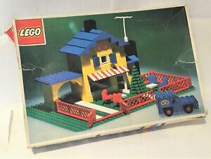 Vintage Lego #361 Tea Garden Cafe with Baker's Van (1974) boxed