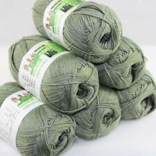 Sale New 6 Skeinsx50gr Soft Bamboo Cotton Baby Hand Knit  Shawls Crochet Yarn 14