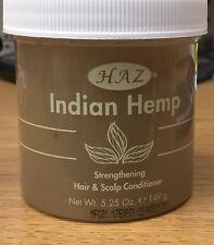 Haz Indian Hemp, Strengthening Hair & Scalp Conditioner