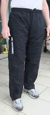 Canterbury Mens Sz 16 Stadium Track Pants Black; Thigh-height Side Zips; ExcCond