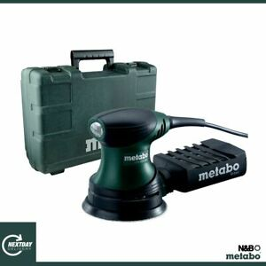 Metabo FSX 200 Intec 240V, 240W, 125mm Palm Disc Sander in Carry Case 609225590