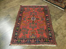 C1930 Vgdy Antique Lilihan Mallayer Sarouk Serapi Heriz 1.9x2.6 Estate Sale Rug