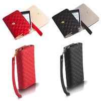 Wallet Case für HTC Handy Tasche Portemonnaie Schutz Hülle Pik Flip Cover Etui