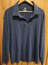 New listing Solbari Sensitive Long Sleeve Polo Shirt - UPF50+ sun protection - Size XL