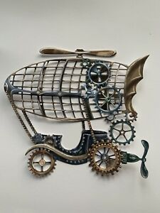 3 Tattered Lace Steampunk Clockwork Carriage Airship - 498651 - Die Cuts