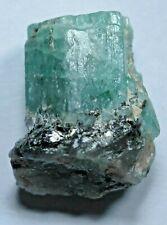 1715 Fleet Shipwreck Genuine 3.5 Carat Raw Colombian Uncut Emerald Gemstone