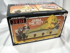 VINTAGE STAR WARS KENNER 1983 JABBA THE HUTT  BOXED PLAYSET