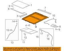 GM OEM-Sunroof Frame 23495100