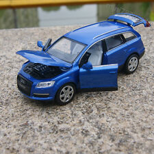 Audi Q7 1:32 Alloy Diecast Model Cars Sound&Light Toys Collection&Gifts Blue New