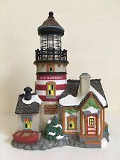 "Dept 56 New England Village ""West Haberdine Lighthouse"""