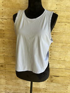 NWT Lululemon Fast As Light Frilly Muscle Tank Top Size 8 Lavender Dew Yoga Gym