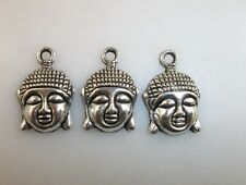 free ship 20pcs Tibetan silver Amulet Buddha charm pendant 22x15mm
