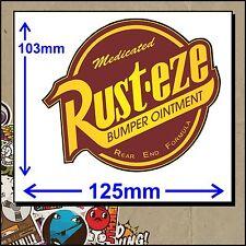 RUST EZE STICKER DECAL JDM - AUSSIE MADE - Hot Rod Cars Truck Drag Race