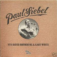 "PAUL SIEBEL ""LIVE"" w/DAVID BROMBERG lp Italy mint"