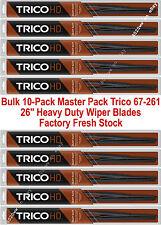 "10-Pack 26"" Trico Heavy Duty Wide Saddle Wiper Blades 67-261 x 10 (67-261RV/HD)"
