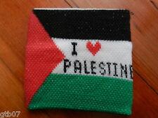 Cloth Palestine Flag Elastic Bracelet Sweat Wristband