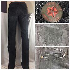 "Peoples Liberation Women's Jeans Sz 27 ""Starburst"" Straight Leg NWT CG256 M4U"