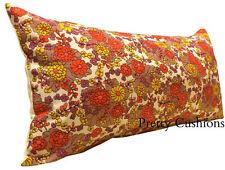 Cotton Blend Floral Vintage/Retro Decorative Cushions