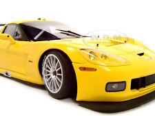 CHEVROLET CORVETTE C6R PLAIN BODY YELLOW 1:18 DIECAST MODEL CAR  AUTOART 80551