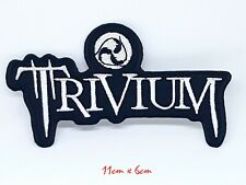 Trivium heavy metal punk rock Iron Sew on Embroidered Patch #1009