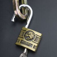 MINDY Lock 40mm High Security Padlock Solid Alloy Anti-cut Outdoor Safety 4 Keys