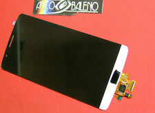 DISPLAY LCD+TOUCH SCREEN per LG G3 D855 BIANCO VETRO RICAMBIO OPTIMUS NUOVO