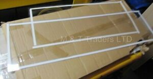 SBC990 Blast Cabinet Light Protection and Main Viewing Screen Protectors 1 each