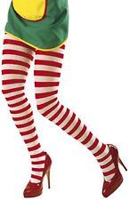Medias y calcetines de mujer rojos de nailon