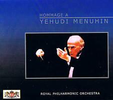 Royal Philharmonic Orchestra tribute to YEHUDI MENUHIN 2 CD Box NIP TIM 1993
