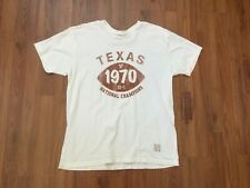 Texas Longhorns NCAA SUPER AWESOME 1970 National Champions Sz Large T Shirt!