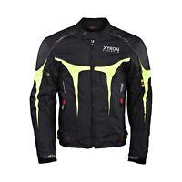 Imperméable Moto Cordura Veste Textile Motard Moto Ce Renforcé Revêtement