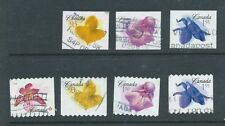 Flowers Booklet Canada Stamps