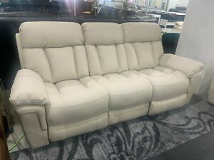 LIVING ROOM LEATHER POWER RECLINING SOFA, LOVESEAT & RECLINER IN STOCK NOW