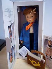 Vintage Goebel Hummel Postman Doll # 2102 - Made in Germany 1983 - Mint in Box