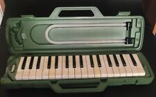 Rare Vintage Pianica Musical Instrument Made In Japan With Carrying Case 44cm !!