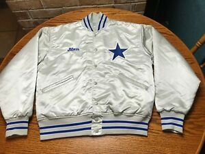 Dallas Cowboys Jacket Felco ILGWU Sanders Aikman Smith silver nfl vtg start styl
