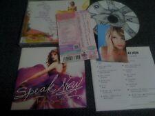 TAYLOR SWIFT / speak now  /JAPAN LTD CD OBI card