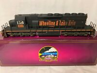 ✅MTH PREMIER WEATHERED WHEELING LAKE ERIE SD40-2 DIESEL ENGINE! PROTOSOUND 3.0