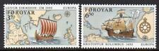 Faroe Islands Mnh 1992 Sg224-25 Europa
