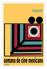 Movie Poster.Week of MEXICAN Cinema.Poncho mouse.Room interior designer wall art